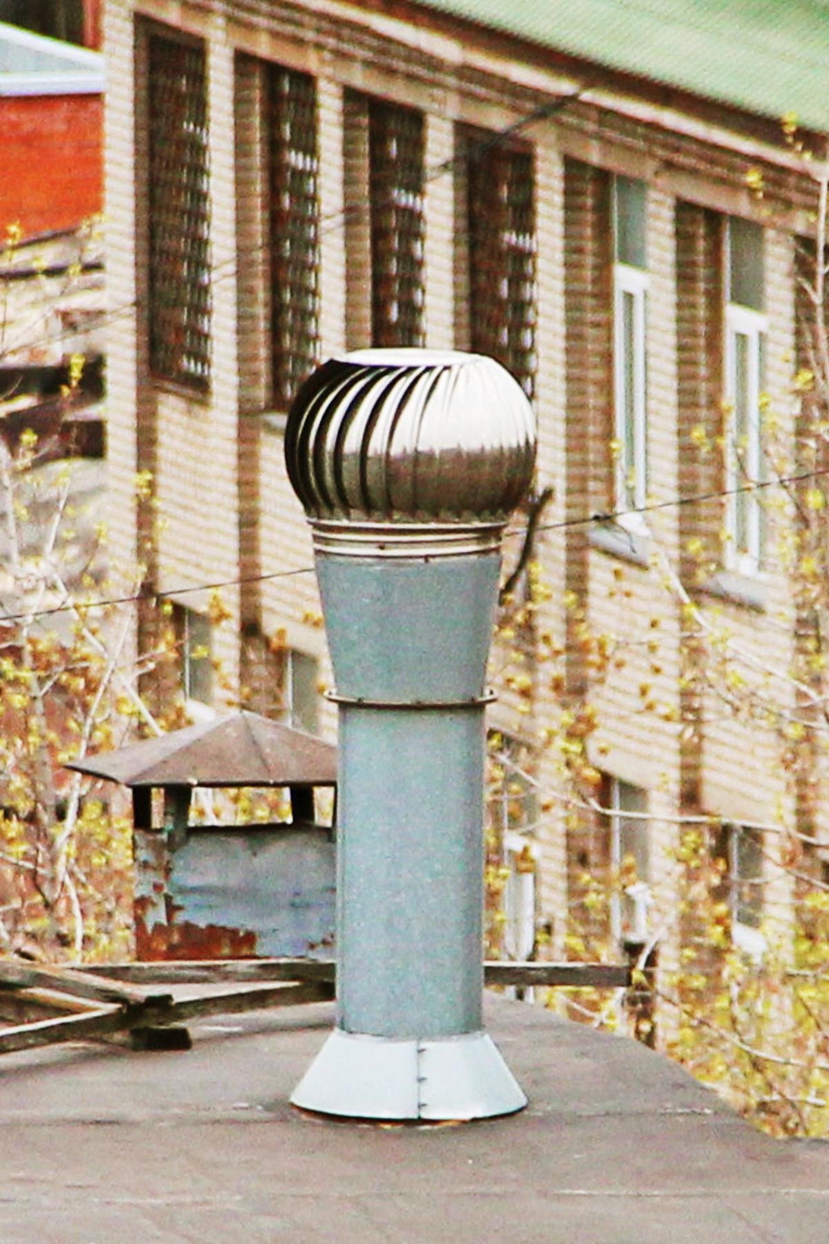 турбодефлектор из нержавеющей стали